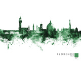 Florence Giclee Print by Michael Tompsett