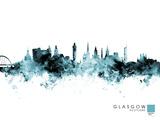 Glasgow Giclee Print by Michael Tompsett