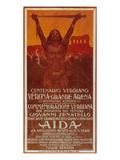 Verdi Opera Aida in Verona Posters