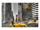 Newyork City Cabs Prints