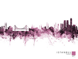 Istanbul Giclee Print by Michael Tompsett