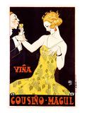Vina Cousino Magul Wine Prints