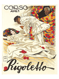 Verdio Opera Rigoletto Poster