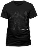 Halo 5- Anatomy (slim fit) T-Shirts