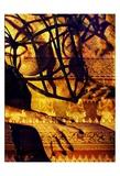 Body Temple Gold Print by Daniel Stanford
