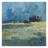 Blue Landscape Prints by Jacques Clement