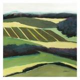 Green Landscape Affischer av Jacques Clement