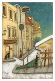 Rue St-Vallier, Québec Prints by Steven Lamb