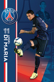 Paris Saint Germain- Angel Di Maria Affiche