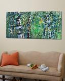 Treescape 04915 Poster by Carole Malcolm