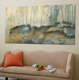 Les deux forêts Poster di Roland Benoît