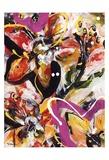 Étude Fleurs III Posters par Pierre David