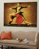 Modern Ballet Print by Steven Lamb