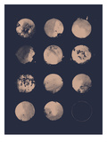 12 Moons Posters by Florent Bodart