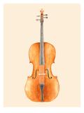 Cello Posters af Florent Bodart