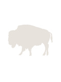 Beige Buffalo Prints by  Jetty Printables