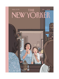 The New Yorker Cover - December 7, 2015 Regular Giclee Print by Chris Ware