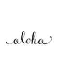 Aloha Prints by  Jetty Printables