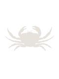 Beige Crab Plakater av  Jetty Printables