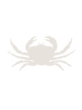 Beige Crab Posters af  Jetty Printables