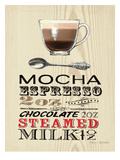 Mocha Expresso Posters by Marco Fabiano