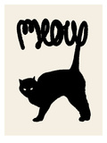 Meow Posters by Florent Bodart