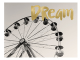 Ferris Wheel Dream Poster by Amy Brinkman