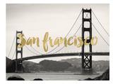 San Francisco Golden Gate Poster by Amy Brinkman