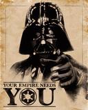 Star Wars- Your Empire Needs You Láminas