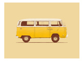 Yellow Van Prints by Florent Bodart