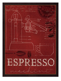 Expresso Machine Poster by Marco Fabiano