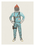 Zissou In Space Plakater af Florent Bodart
