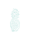 Mint Pineapple Prints by  Jetty Printables