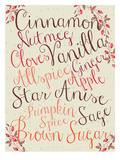 Fall Spice Posters by  Dash of Summer