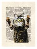 Karate Kitty Posters by Matt Dinniman