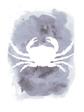Watercolor Gray Crab Posters by  Jetty Printables