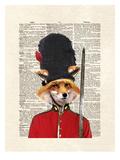 Fox Guard Prints by Matt Dinniman