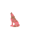 Watercolor Pink Wolf Prints by  Jetty Printables