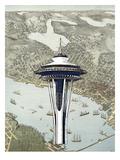 Seattle Poster by Matt Dinniman