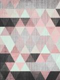 【北欧】幾何学模様 高画質プリント : リラ・アンド・ロラ