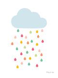 Rainy Cloud Posters par Penny Jane