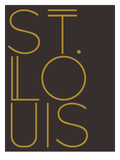 St. Louis Brown Gold Prints by  Dash of Summer