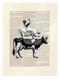 Cow Stack Prints by Matt Dinniman