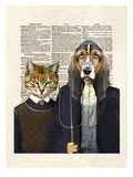 Kennel Gothic Prints by Matt Dinniman