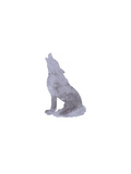 Watercolor Gray Wolf Art by  Jetty Printables