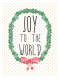 Joy To The World Posters by  Jetty Printables