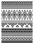 Black Tribal Posters by  Jetty Printables