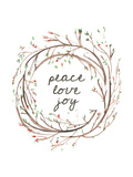 Peace Love Joy Prints by  Jetty Printables