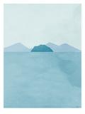 Seaside Landscape 1 Posters by Ivana Sepa