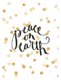 Peace On Earth Posters by  Jetty Printables